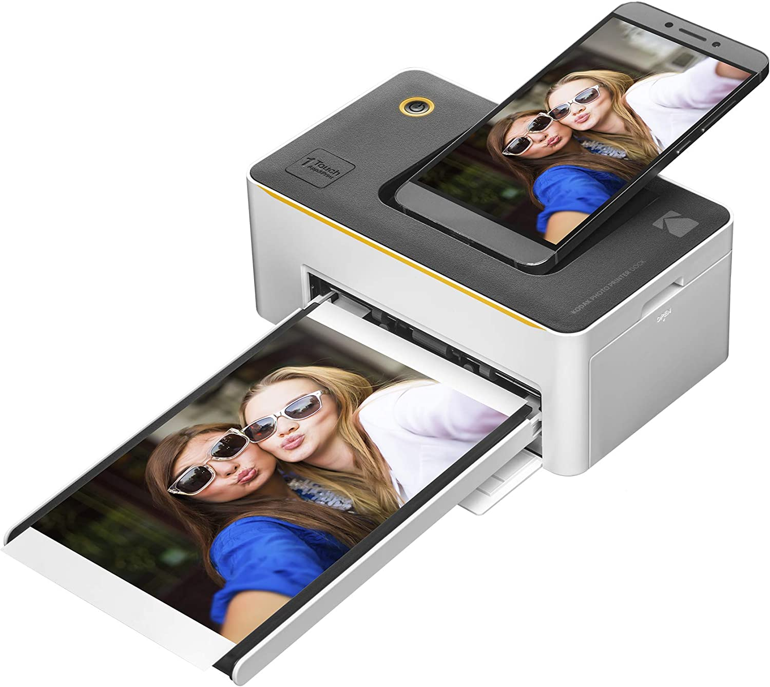 """Kodak Dock Premium 4x6"""" Portable Instant Photo Printer, Bluetooth Edition 