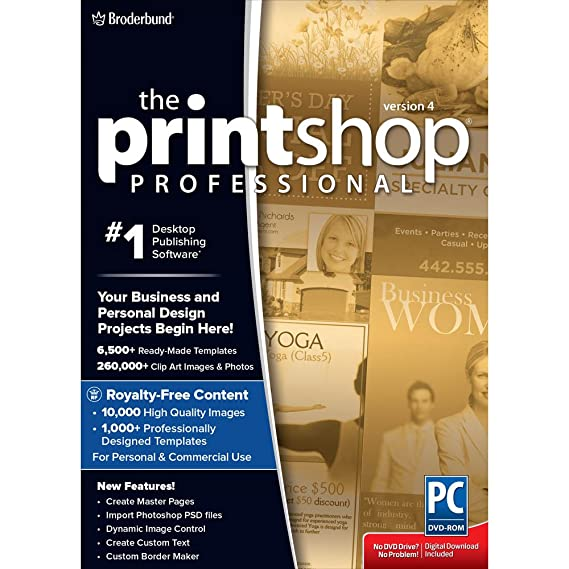 Amazon Encore Print Shop Professional 40 Software
