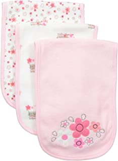 """Petite L/'Amour Baby Girls/' /""""Pretty Bird/"""" 4-Pack Receiving Blankets"""