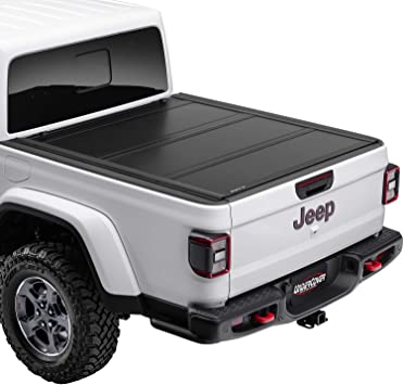 Amazon Com Undercover Ultra Flex Hard Folding Truck Bed Tonneau Cover Ux32010 Fits 2020 Jeep Gladiator 5 Bed Automotive