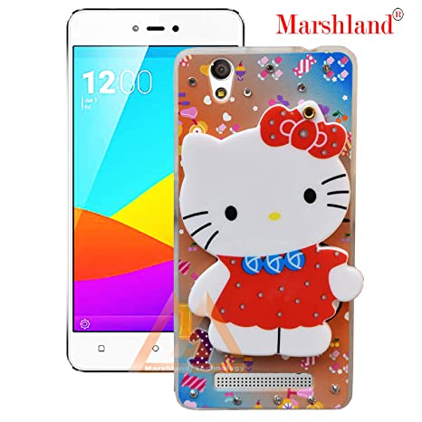 new arrivals 5f797 23fb2 Marshland Hello Kitty Back Cover Compatible with Gionee F103