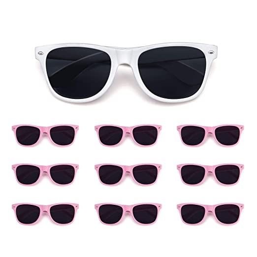 bridal Party perfect Bachelorette 10 wedding And Pack Bride Sunglasses Bridesmaid For Party ZiPukOX
