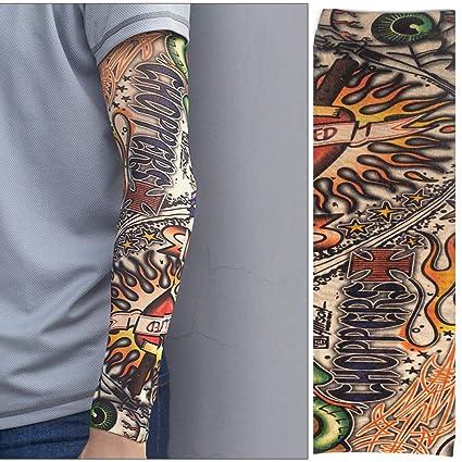 WFire Hombres y mujeres tatuaje mangas tatuaje hielo seda ...