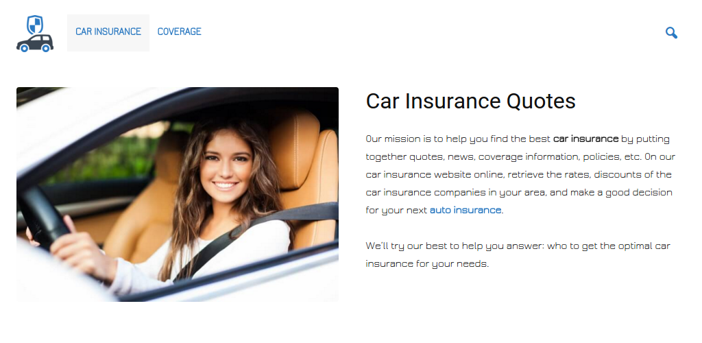 car insurance get auto insurance quotes online appstore for android. Black Bedroom Furniture Sets. Home Design Ideas
