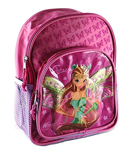 769f242ea4 ZAINO ASILO WINX CLUB CM 30X22X10 CM: Amazon.it: Valigeria