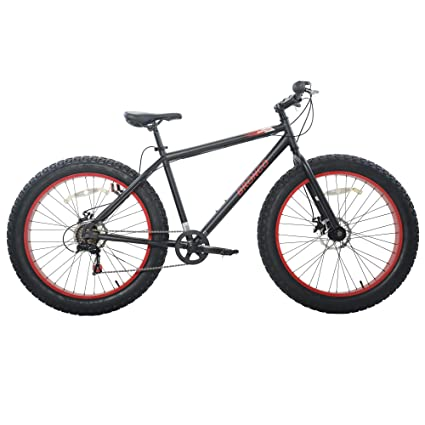 7e5e27c26e3 Cycle Force Limited Edition 26 Men's Fat Tire Bicycle, Black, 19