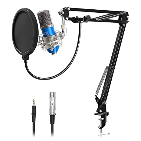 Enjoyable Amazon Com Tonor Professional Studio Condenser Microphone Computer Wiring 101 Capemaxxcnl