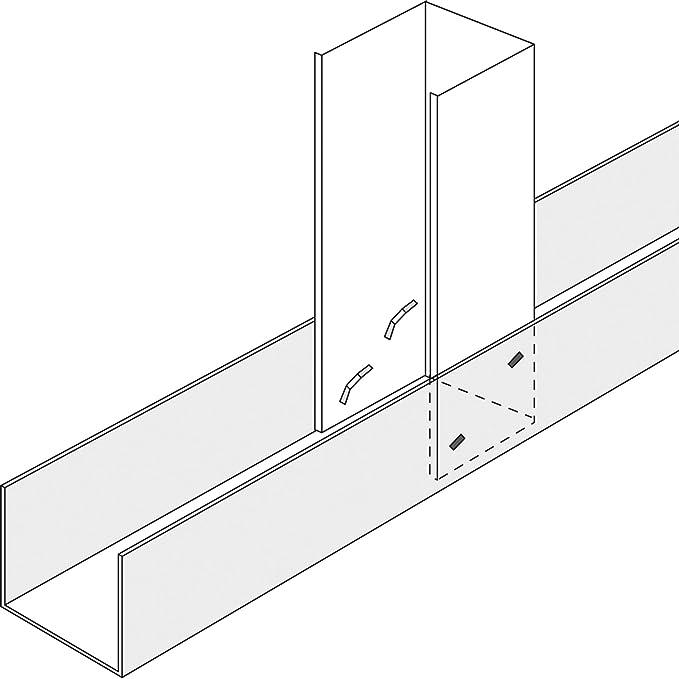 Fartools 212002 Pince Pour Rail à Placoplâtre