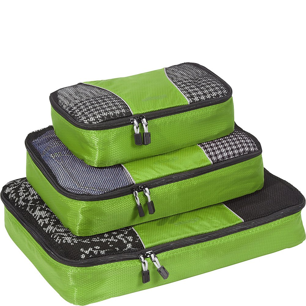 eBags Packing Cubes - 3pc Set (Black) M13032