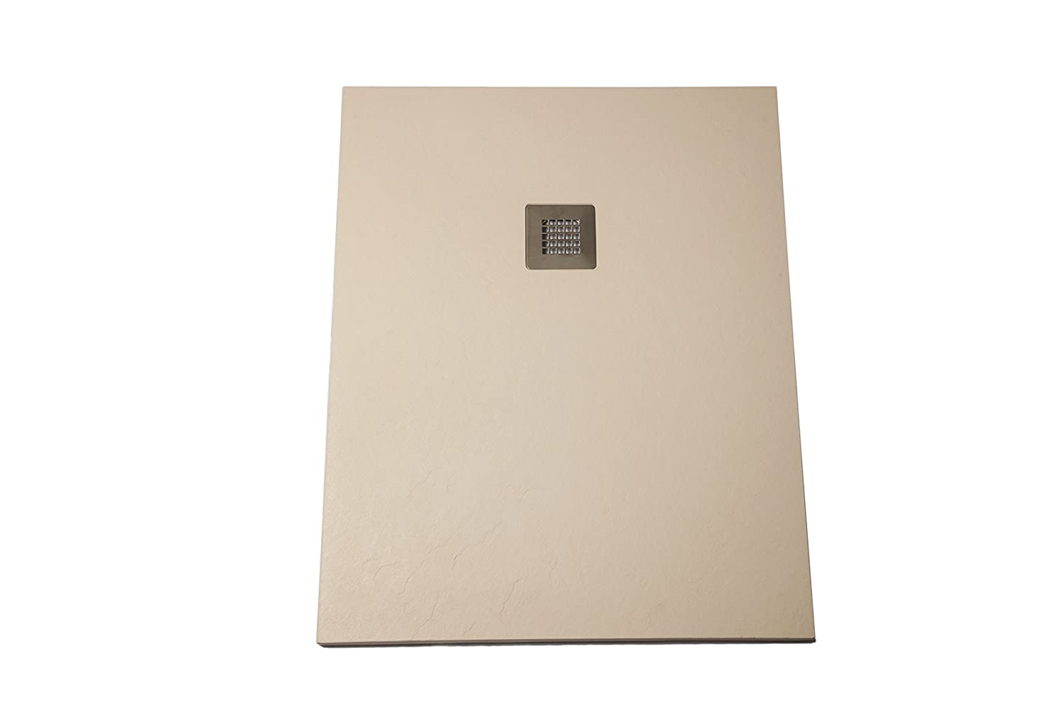 Shower Tray Super Slim Beige Silex Ral 1015 90×120 Amazon Co Uk