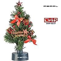 PEARL USB Tannenbaum: USB-Weihnachtsbaum mit LED-Farbwechsel-Glasfaserlichtern (Weihnachtsbaum Auto 12V)