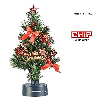 Mini Weihnachtsbaum Mit Batterie.Amazon De Pearl Usb Tannenbaum Usb Weihnachtsbaum Mit Led