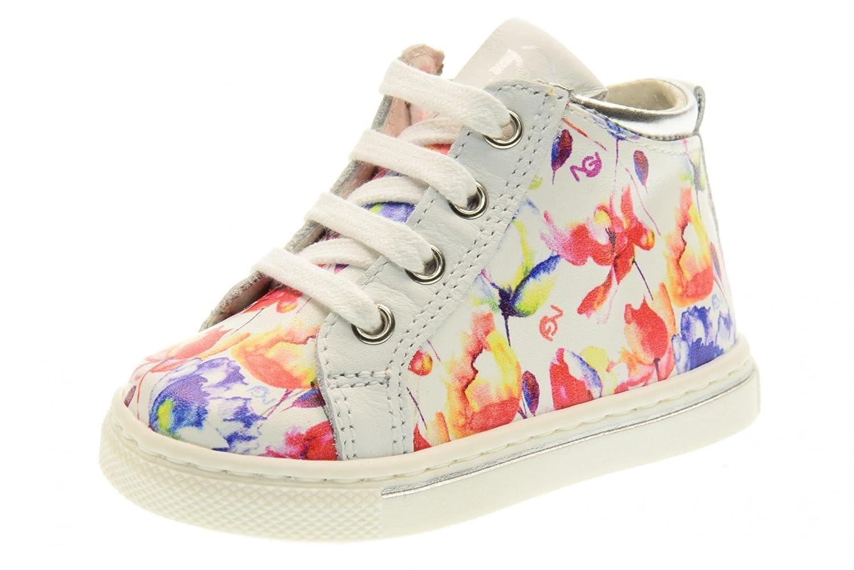 Nero Giardini Scarpe Bambina Sneakers Alte P722203F 707 (18 22) Taglia 22  Bianco-Fantasia  Amazon.it  Scarpe e borse 086a971d950