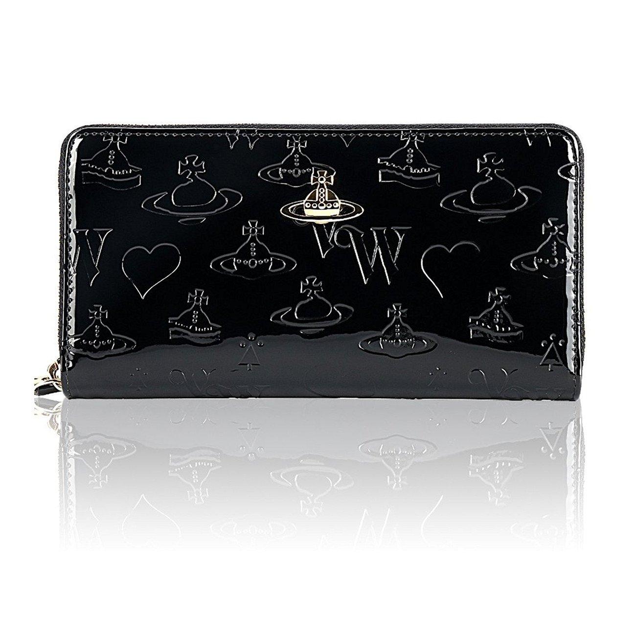 Vivienne Westwood ヴィヴィアンウエストウッド財布 長財布 55310 BLACK / RED/BLUE[並行輸入品] B079L6GF1M ブラック ブラック