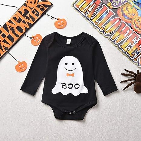 Baiomawzh Ropa Halloween Bebe Niñas Niños Mameluco Manga ...