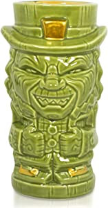 Geeki Tikis Leprechaun Character Horror Movie Tiki Mug | Geeki Tikis Horror Series Official Leprechaun Collectible Ceramic Tiki Style Cup | Holds 18 Ounces