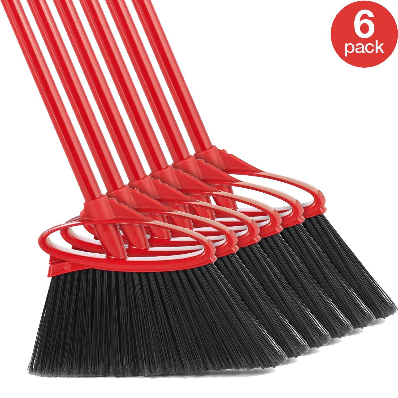 O-Cedar Angler Angle Broom (Pack of 6) by O-Cedar