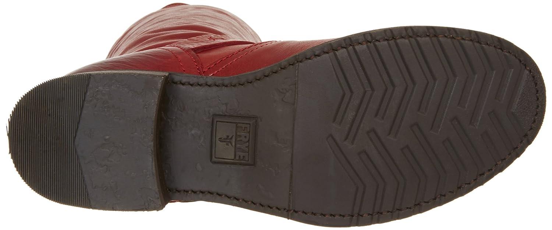 FRYE Women's Veronica Slouch Boot B008BULHVM 8 B(M) US Burnt Red Soft Vintage Leather-76602