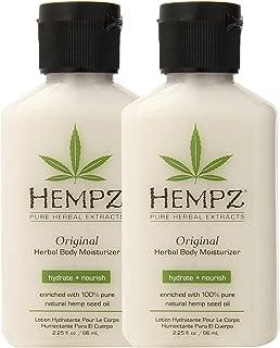 product image for Hempz Original Herbal Body Moisturizer, 2.25 Oz Pack Of 2, 2.25 Oz