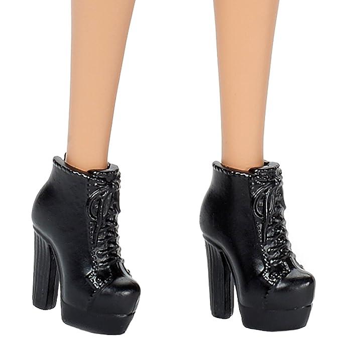 Amazon.es: Barbie Fashionista Vestido Cuello Halter Rayas ...