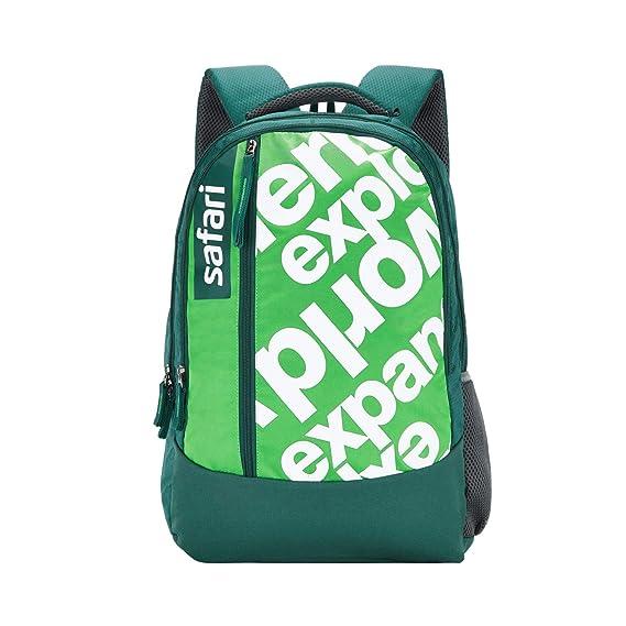 SAFARI 46 cms Green Casual/School/College Backpack (JOURNEY19CBGRN)