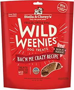 Stella & Chewy's Freeze Dried Raw Wild Weenies Dog Treats