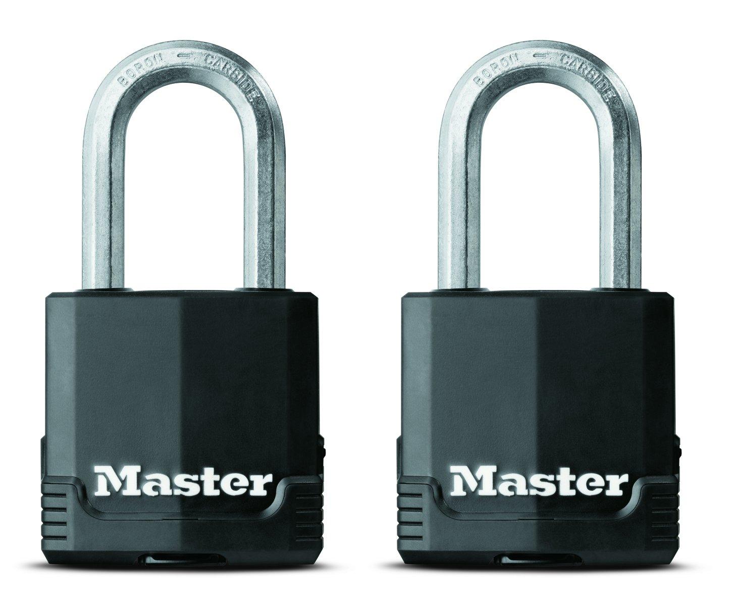 Master Lock 311TRI Keyed Alike Laminated Steel Padlock  3-Pack