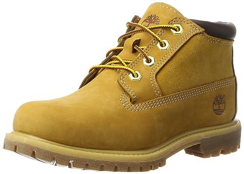 Timberland Womens Nellie Chukka Wheat Nubuck Boots 6 US  Amazon.ca ... ce4e961981