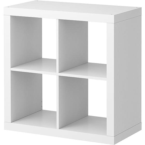 Ikea KALLAX estantería de Pared Blanco Brillante; (77 x 77 cm ...