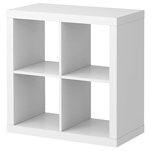IKEA Kallax - Shelving unit, white - 77x77 cm: Amazon.co