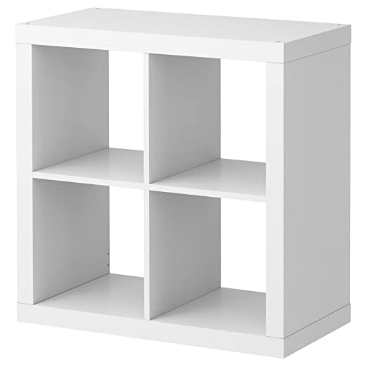 Ikea Kallax Regal Bucherregal Weiss Perfekt Fur Korbe Oder Kisten