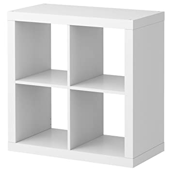 Amazon.com: IKEA KALLAX SHELVING UNIT, BOOKCASE, WHITE ...