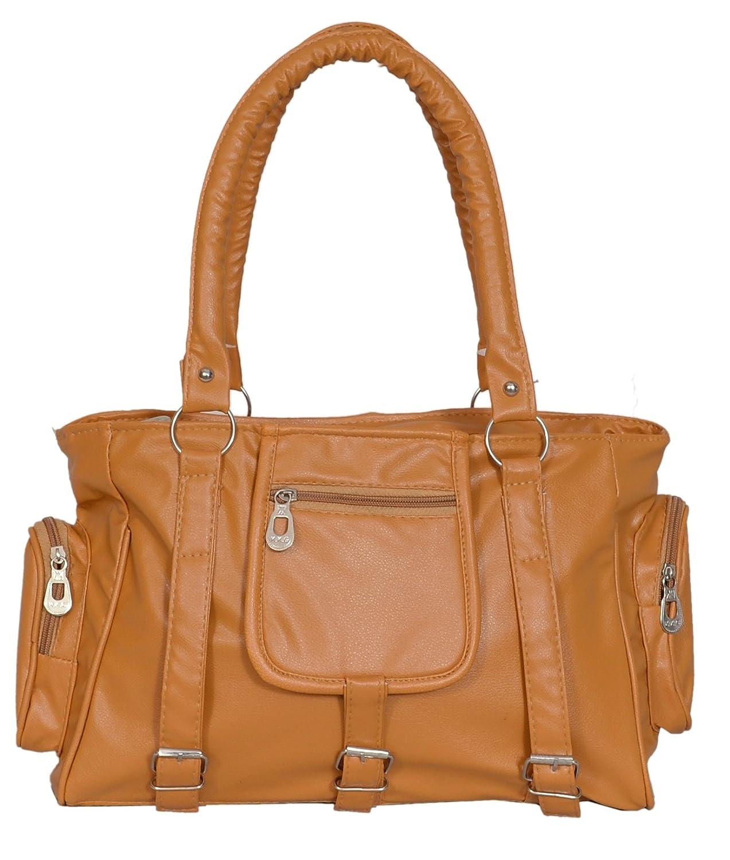 Lorna Premium PU Leather Girl s Women s Handbag Mustard  Amazon.in  Shoes    Handbags b1a894abea