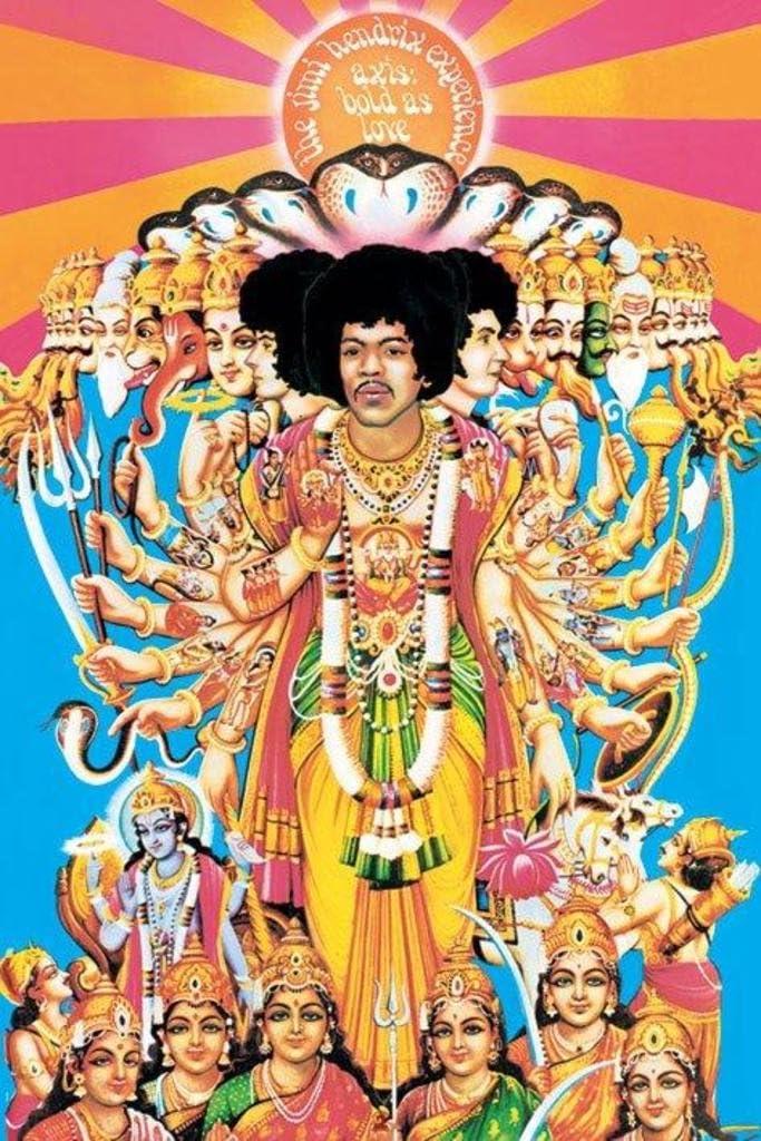Pyramid America Jimi Hendrix Axis Bold as Love Music Cool Wall Decor Art Print Poster 24x36