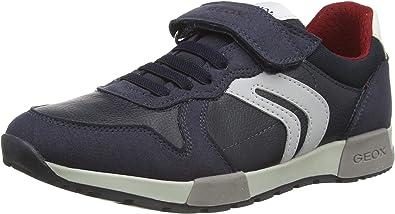 Geox Boy's J Alfier C Low-Top Sneakers