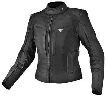 Shima Chaqueta de mujer para motociclismo Volante – Resistente al agua, transpirable, con tejido protector