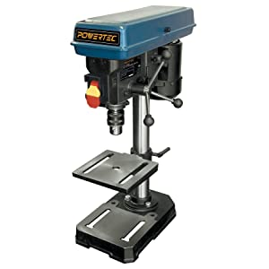 POWERTEC DP801 Baby Drill Press, 5 speed