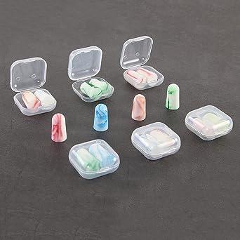 Earplugs Enchufes de oreja envueltos en caja individual Laser Lite - Espuma suave reutilizable (10Par
