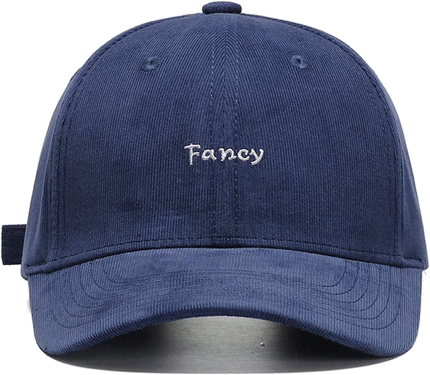 Ron Kite Fcany Embroidery Baseball Cap Fashion Hop Hip Corduroy Dad Hat Casual Adjustable Outdoor Hat