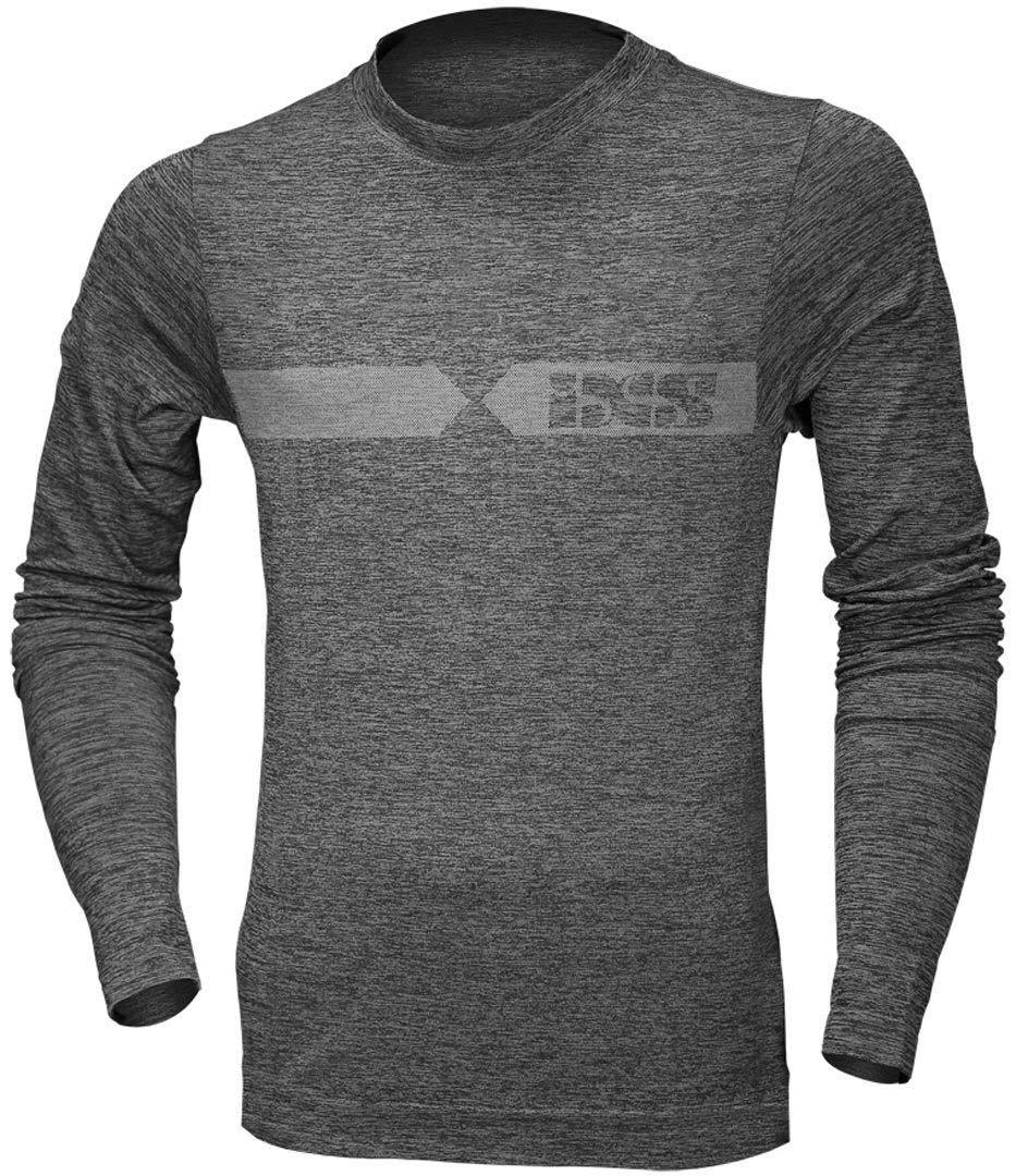 Funkt.-Shirt Langarm Melange, Größe XL+2XL, Farbe grau