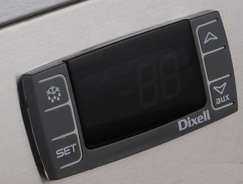 19.1 cu Black Dukers Appliance USA DBB72-S3 Sliding 3 Door Bar and Beverage Cooler ft