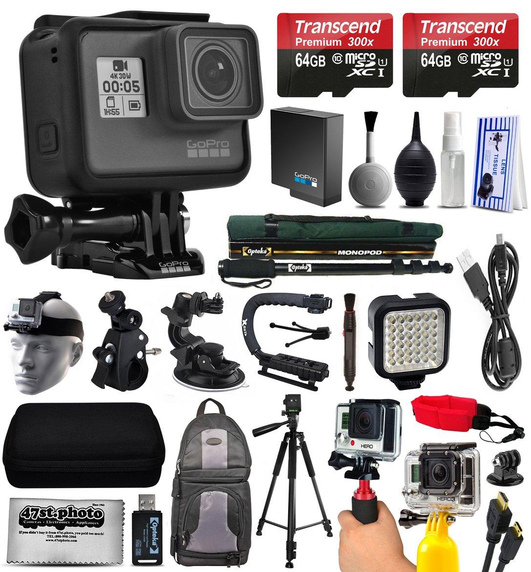 GoPro Hero5 Black Edition 4 K Cámara de acción con 2 x micro ...