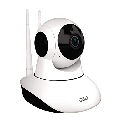 Home Security Ratings >> Buy D3d D8810 1080p Wifi Home Security Camera 360 Ptz White Online