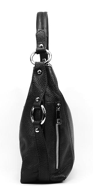 OH MY BAG Sac à main en cuir S bleu fonce SOLDES  Amazon.fr  Chaussures et  Sacs dc80281d362f
