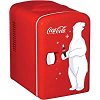 Coca-Cola KWC-4 6 Can AC/DC Electric Cooler by Koolatron (4.2 Quarts/4 Liters)