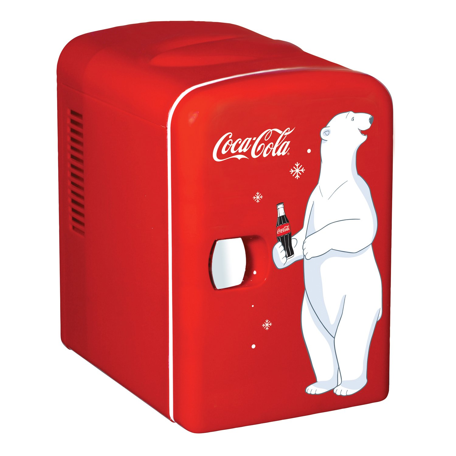 Coca-Cola KWC-4 6-Can Personal Mini 12V DC Car and 110V AC Cooler, Red Koolatron (Kitchen)