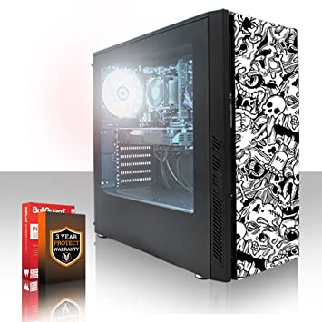 Fierce CHEETAH RGB PC Gamer - Rápido 4 x 4.5GHz Quad Core Intel ...