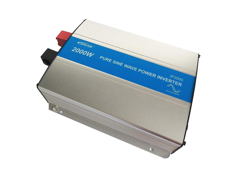 EPEVER® IP2000-22 REINER SINUS Spannungswandler Inverter Wechselrichter 2000W 24VDC auf 230VAC Stromwandler power inverter SolarV®