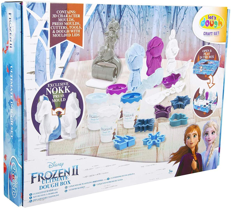 Valuvic Frozen II Set de Plastilina Ultimate Box DFR2-4785: Amazon ...