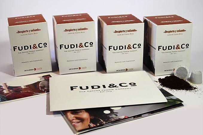 Fudi&Co - DESPIERTO Y SOÑANDO - Café de especialidad de Costa Rica - 4 Paquetes de